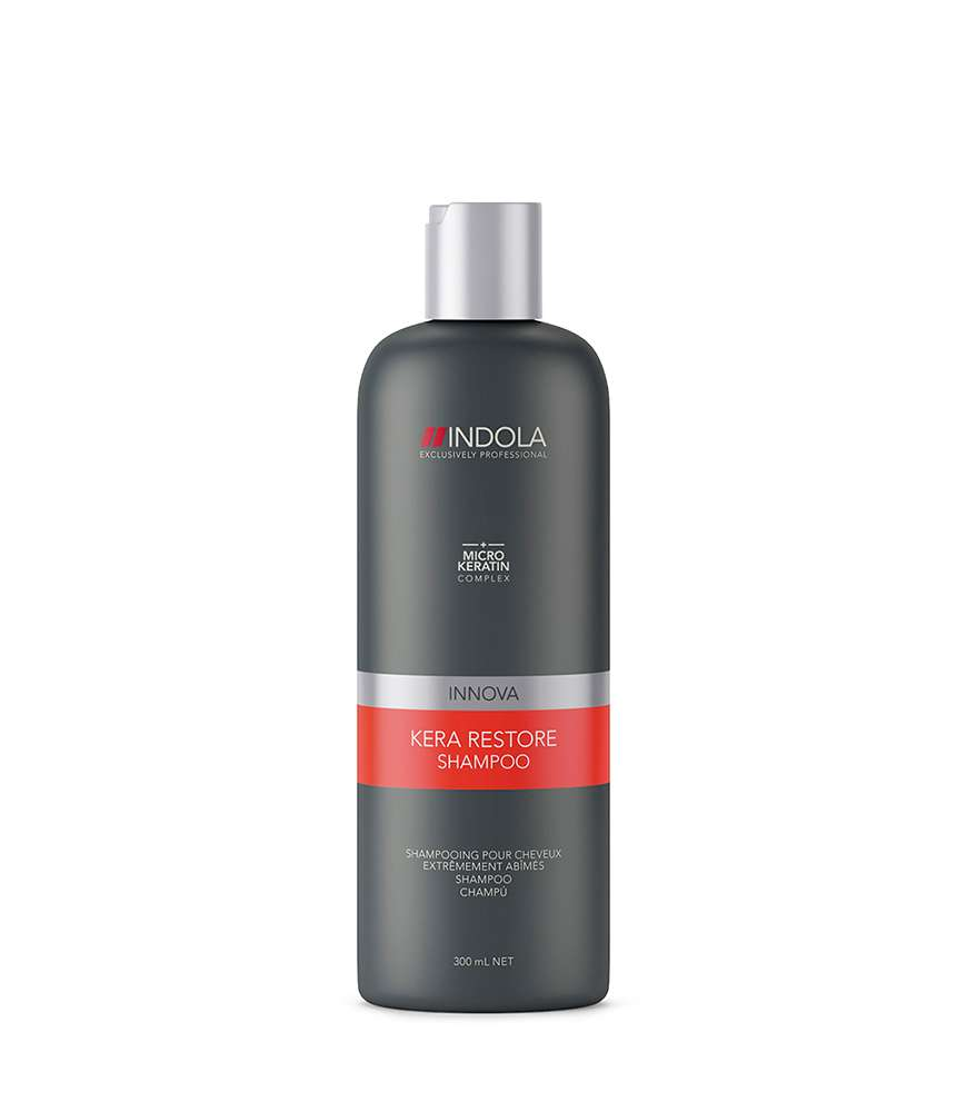 Indola_KeraRestore_Shampoo_300ml